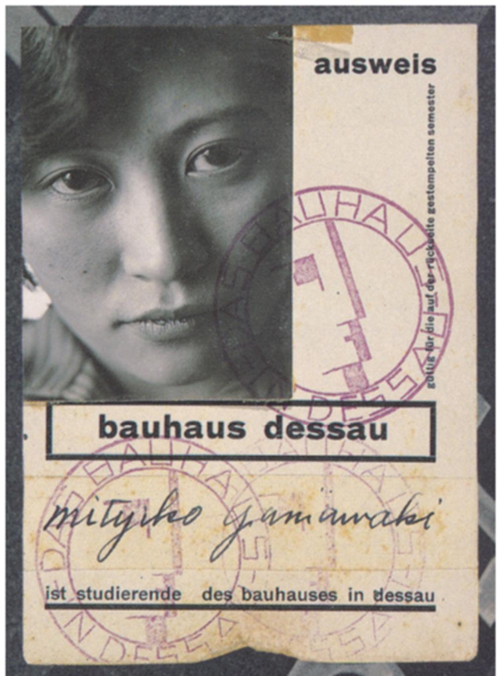 frauen-am-bauhaus-buchtipp-studentenausweis-von-mytyiko-yamawaki-copyright-nachlass-michiko-yamawaki-decohome.de_