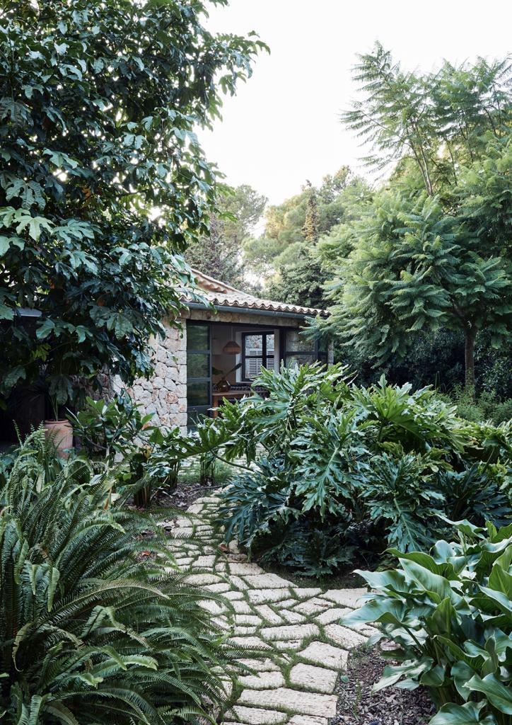 Mallorca Style Haus von außen