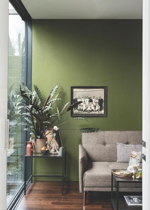Wandgestaltung Grun So Setzen Sie Die Farbe Effektvoll Ein Deco Home