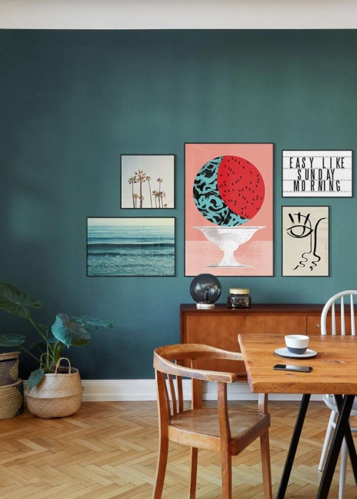Wandgestaltung Grun So Setzen Sie Die Farbe Effektvoll Ein