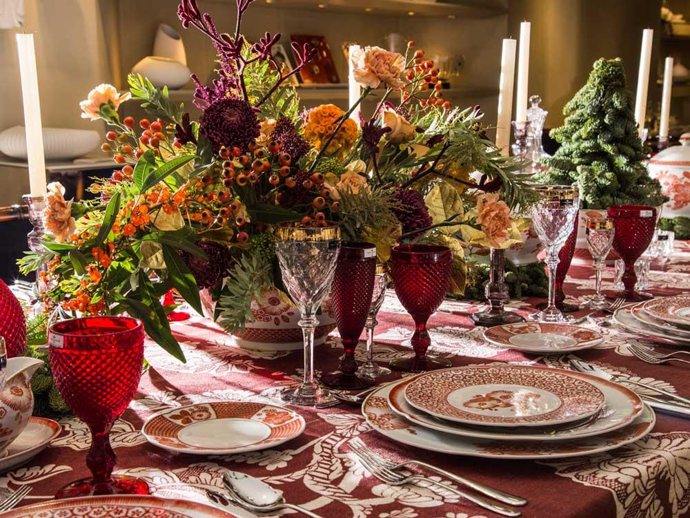 Tischdeko Weihnachten natürlich prächtig 10 Deko Tipps