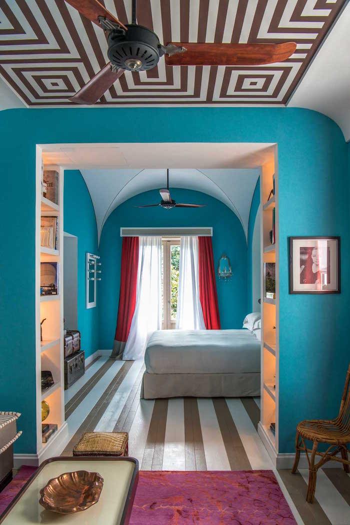 Ein Hotel auf Capri als Designvorlage