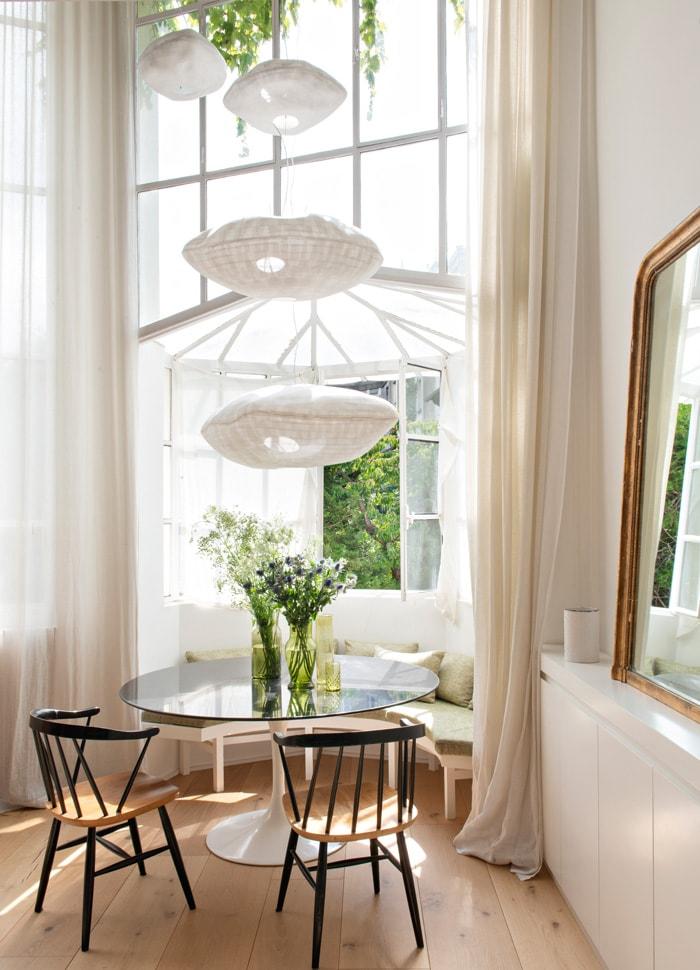 Vintage ganz modern: Ein cooles Pariser Apartment mit Dachterrasse