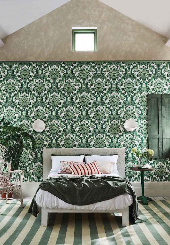 Diese Designs eignen sich als Schlafzimmer-Tapete