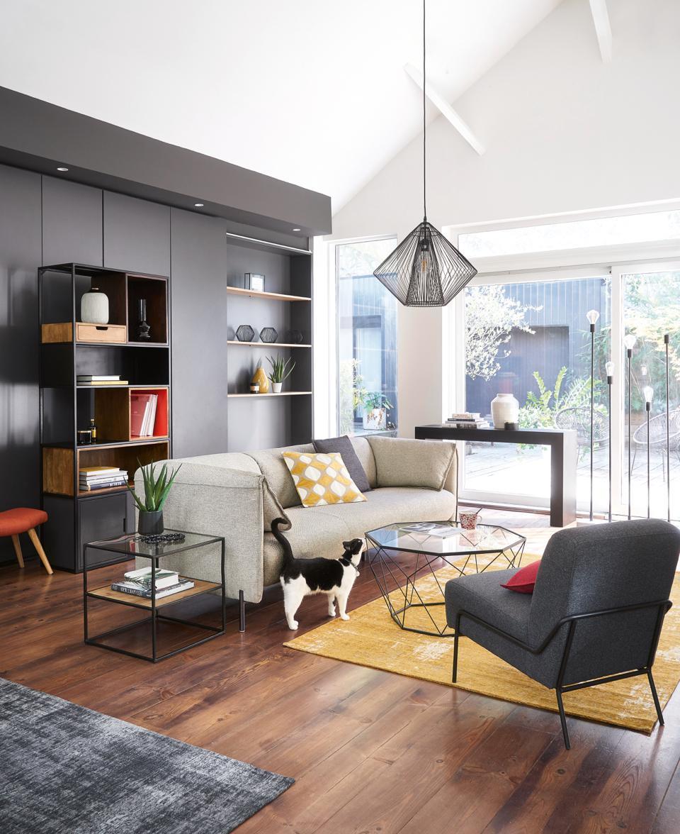 couchtisch-maison-du-monde-decohome.de-moderne-architektur-glasplatte-metall