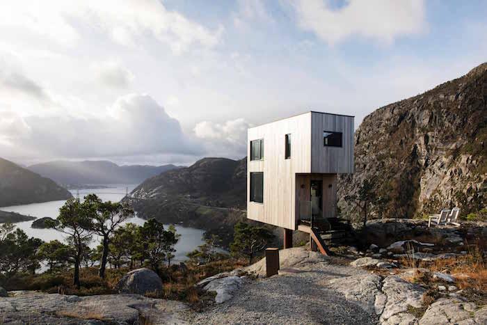 Gute Aussichten: Ein Ferienhaus am südlichsten Fjord Norwegens