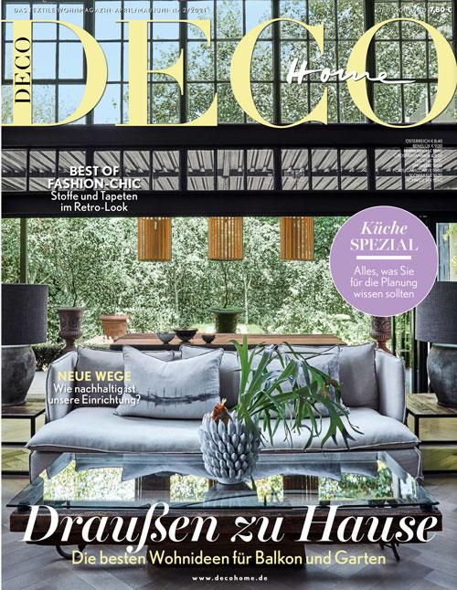 Aktuelle Ausgabe der DECO Home
