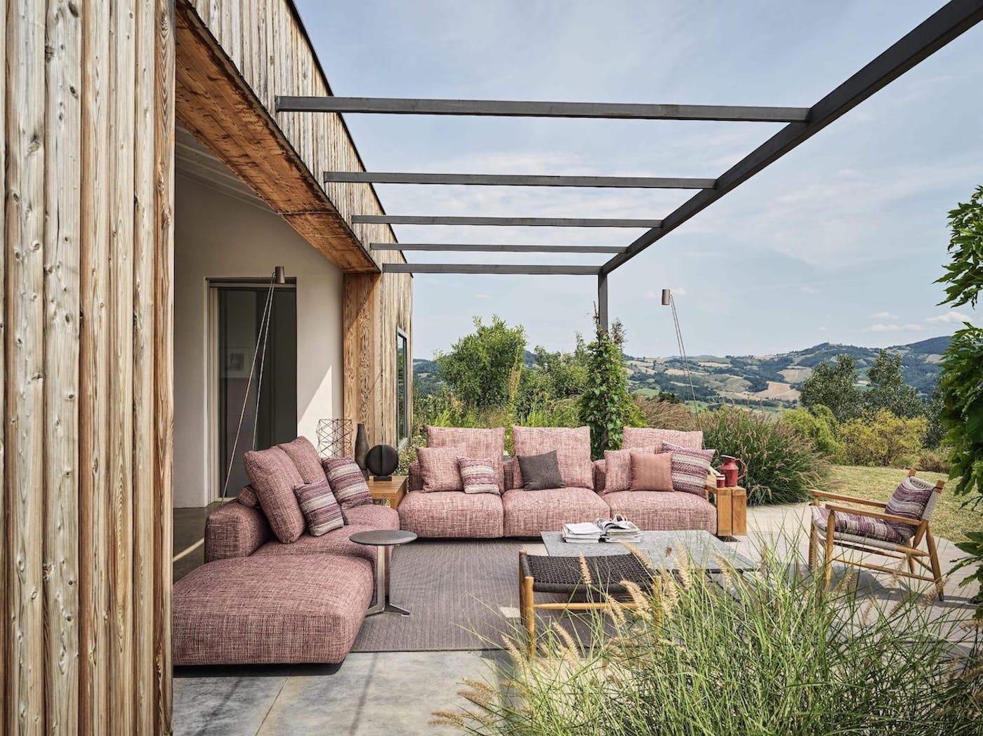 Loungemöbel für den Garten: 5 aktuelle Trends