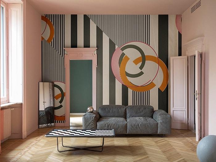 Wandgestaltung mit Tapeten von Wall & decò