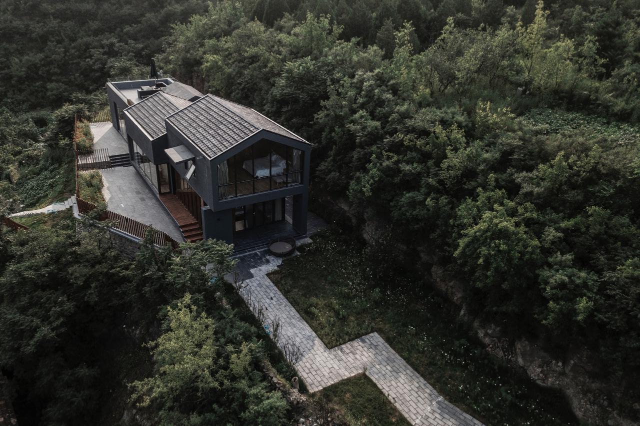 Eine Ruheoase nahe Peking desigend by Fon Studio